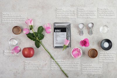 Bulgarian Rose Hydrating Facial Mask ingredient