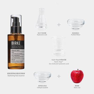 親膚潤澤玻尿酸保濕精華成份圖 小分子玻尿酸