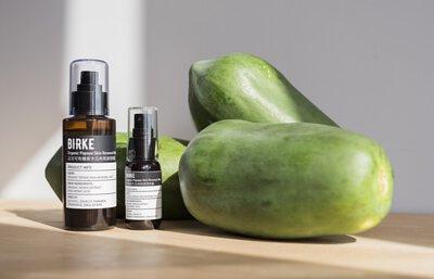 木瓜酵素軟化角質,papain,蛋白質分解酵素,淡斑,促進新陳代謝