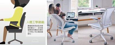 人體工學椅-椅背支撐力高