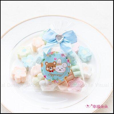 奇奇妮妮喜糖 幸福氛圍迷你包小花棉花糖
