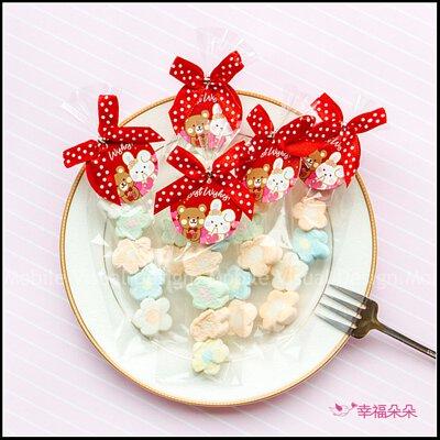 奇奇妮妮喜糖-我的專屬吊牌5顆小花棉花糖