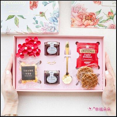 繁花英式午茶禮盒(附提袋)