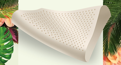 乳膠枕透氣排濕-dunlopillo乳膠枕
