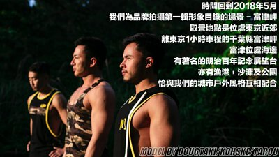 Three men in sportswear in futtsu