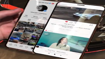 iphone-slide-pro-dual-screen-display,手機看片可同步回覆訊息,雙屏手機,雙屏幕手機,雙螢幕手機,雙屏幕,雙螢幕,滑蓋屏幕,滑蓋螢幕