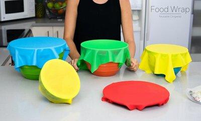 Food Wrap, 保鮮紙, 保鮮紙微波爐, 矽膠保鮮膜, 矽膠 保鮮膜