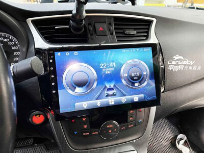 NISSAN 日產專用機 ANDROID 八核心高清安卓版 10.1吋觸控螢幕主機 + LOOKING 錄得清 LD-9 12吋 前後電子後視鏡 行車記錄器 |NISSAN 日產 SENTRA 2015