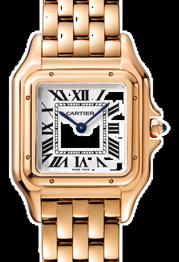 Cartier卡地亞手錶款式-PANTHÈRE 美洲豹系列 玫瑰金.中型
