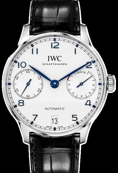 IWC萬國錶-葡萄牙七日鍊腕錶  PORTUGIESER WATCH