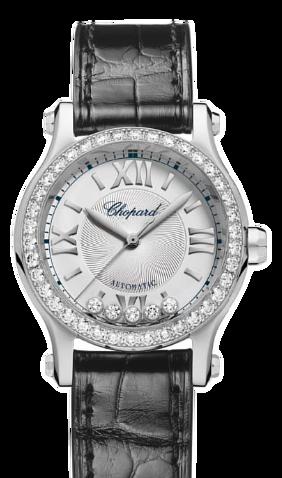 Chopard蕭邦錶-HAPPY SPORT系列  30mm鑽石自動上鍊女錶