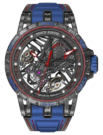 羅傑杜彼 Roger Dubuis-EXCALIBUR SPIDER系列     Lamborghini Squadra Corse  藍寶堅尼合作錶款