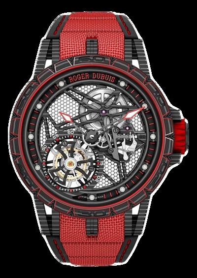 羅傑杜彼 Roger Dubuis-EXCALIBUR SPIDER系列 CARBON 炭纖維腕錶