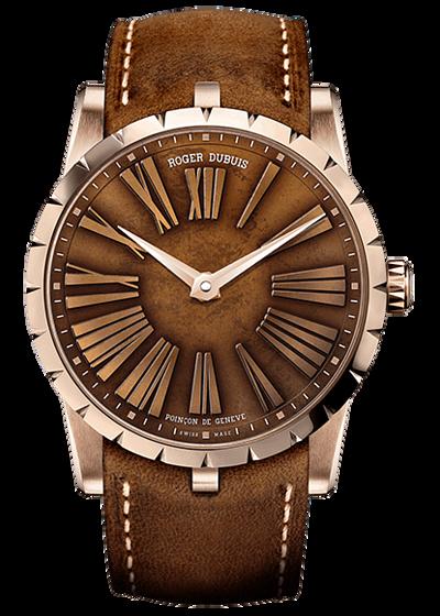 羅傑杜彼 Roger Dubuis-EXCALIBUR 王者系列 青銅錶盤,限量188枚