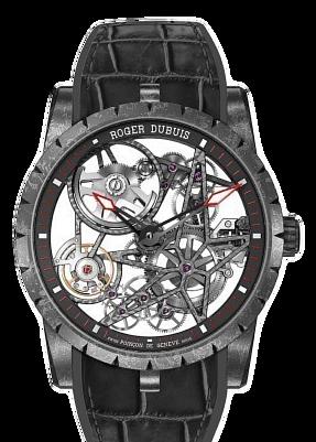 羅傑杜彼 Roger Dubuis-EXCALIBUR SPIDER系列 DLC 鏤空腕錶