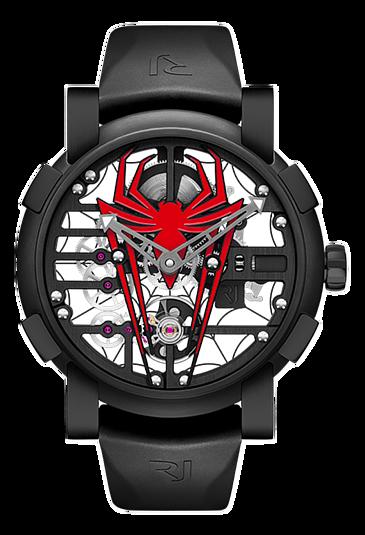 RJ watch手錶-RJ X  SPIDER-MAN   限量發行75枚  RJ.M.AU.030.07