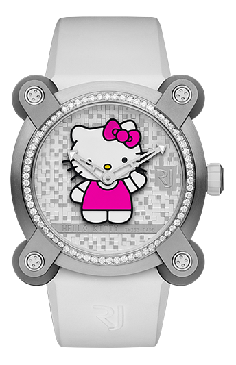 RJ watch手錶-HELLO KITTY SPARKLE  限量發行76枚  RJ.M.AU.IN.023.03