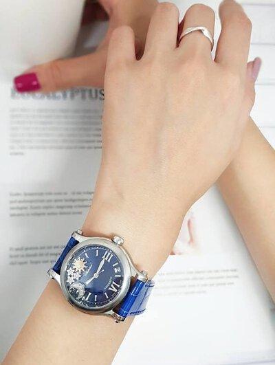 CHOPARD HAPPY STARS  蕭邦 快樂鑽腕錶-金光鐘錶
