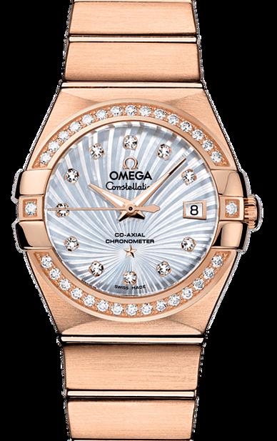 OMEGA  CONSTELLATION  星座系列  型號:12355272055001-金光鐘錶公司