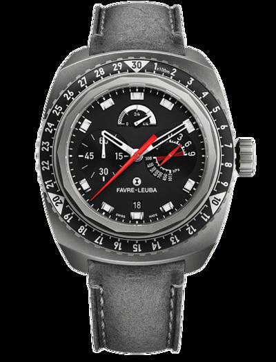 Favre-Leuba經典鐘錶款式|RAIDER系列BIVOUAC9000