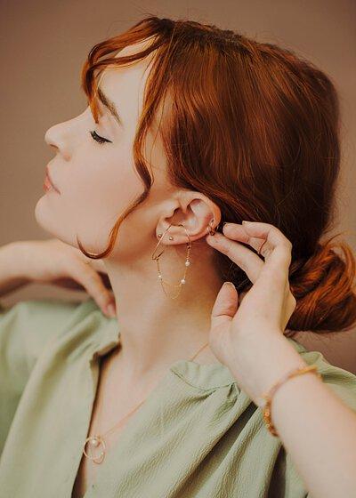 沒有耳洞也能無痛配戴耳環的秘訣!Olivia Yao Jewellery 耳夾/耳窩夾/耳掛/耳骨夾/耳扣一次介紹