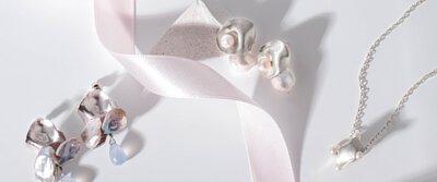 天然淡水珍珠耳環|半寶石|台灣設計師輕珠寶SS21|多款客製化輕珠寶