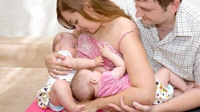 雙胞胎或多胞胎的母乳餵養