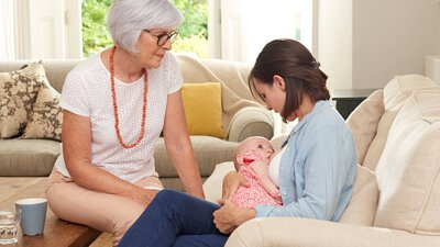 9個第一個月的母乳餵養問題 --- 解決辦法