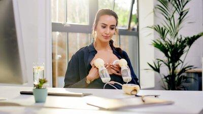 在工作場所吸乳: 吸乳技巧和媽媽們的建議