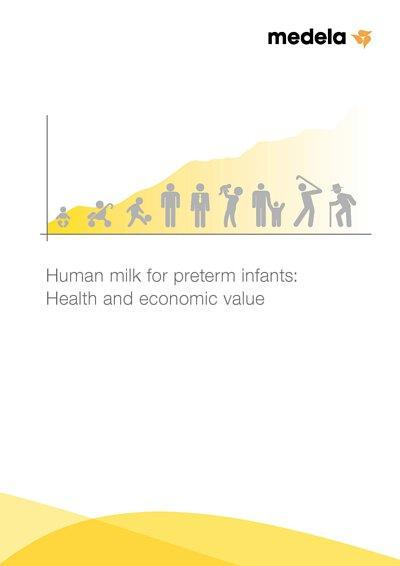 母乳對早產兒的健康益處和經濟益處