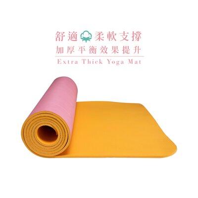 瑜珈墊,加厚瑜珈墊,TPE環保材質,瑜伽,布面瑜珈墊