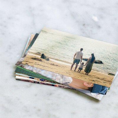 把回憶用4X6吋的相片一張張沖印出來