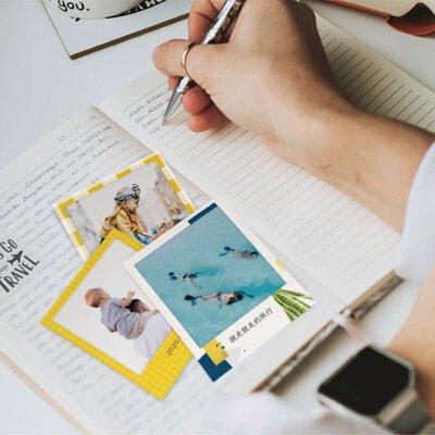 生活中每個發生的事件都是值得記住的。寫著日誌,準備貼上滿滿回憶的拍立得。