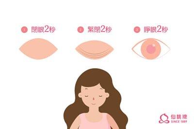 原來眨眨眼也可以預防乾眼症