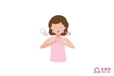感冒初期症狀喉嚨痛