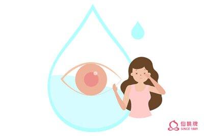 眼睛缺水乾巴巴用喝的來滋潤它