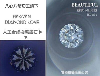 HEAVEN人工合成擬態鑽石