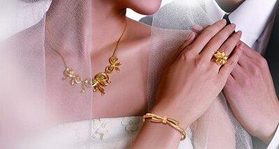 金色飾品搭配原則,讓你告別大媽感