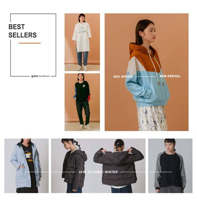 gooz,GOZO,2020AW,2020SS,collection,BESTSELLERS