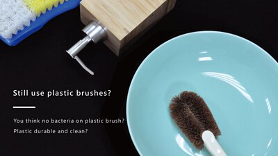 DUBBE Natural Pot Brush