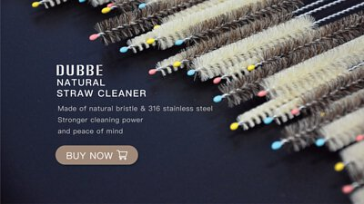 DUBBE straw cleaner