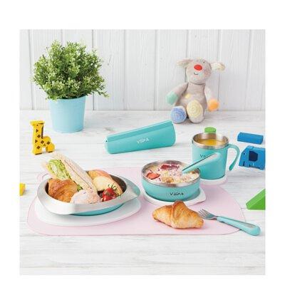 VIIDA,兒童餐具,304L,抗菌,reddot,防水,矽膠,台灣,不鏽鋼