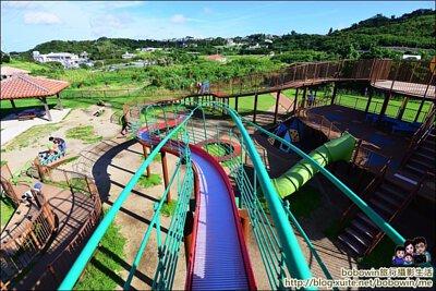 日本中城公園 大型溜滑梯