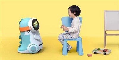孩童與陪伴機器人