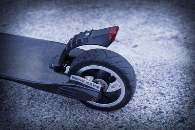 電動滑板車的後輪