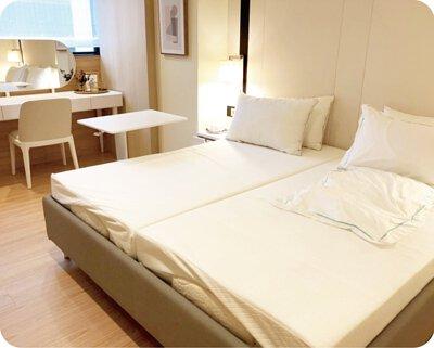 台北孕學林產後護理,電動床,乳膠床墊