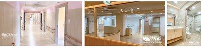 乳膠床墊,電動床,GM09-D2,,居家照護床,月子中心,產後護理之家,台中榮總醫院,床墊