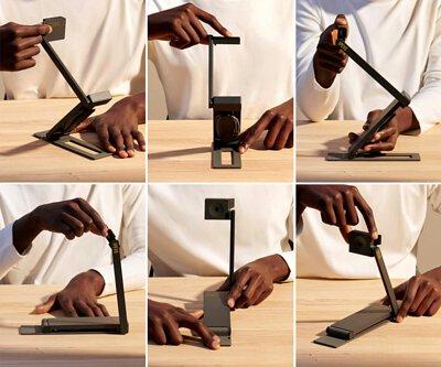 快速調整 DO-CAM 從不同高度、角度與方向輕鬆拍攝影像。