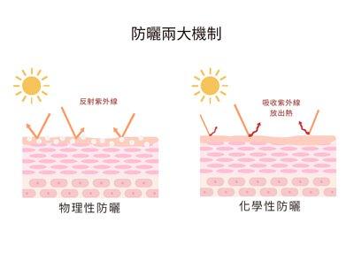 如何簡單做好防曬? 物理性v.s.化學性大比拚