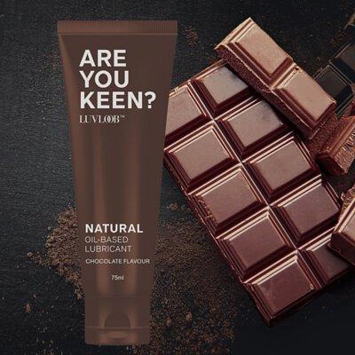 LUVLOOB 巧克力 油性潤滑液  天然潤滑液 潤滑液